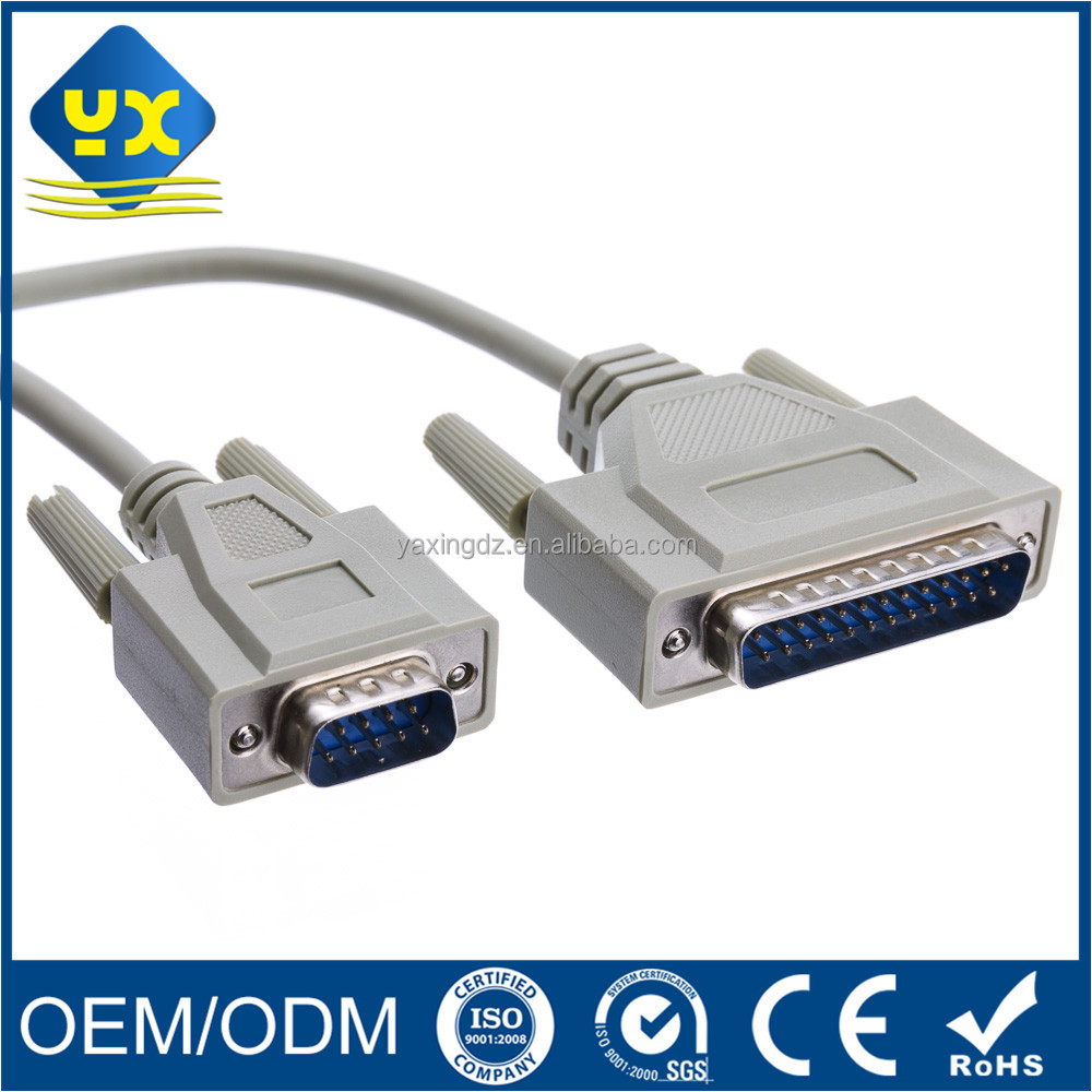VGA DB25 Male to DB9 Male cable