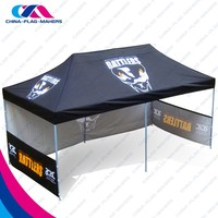 cheap 10x10 advertise print steel marquee tent