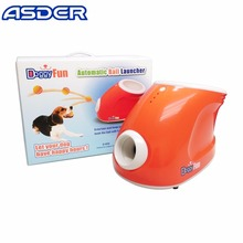 Let dog run dog toy rubber ball launcher machine