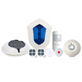 Professional GSM/3G WiFi GPRS SMS home alarm system wireless security alarm system with IP camera/fingerprint lock