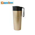 CL1C-B86 comlom 500ml stainless steel wholesale double wall insulation suction travel mug