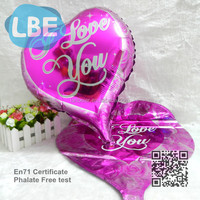 Heart shaped marriage decoration foil balloon