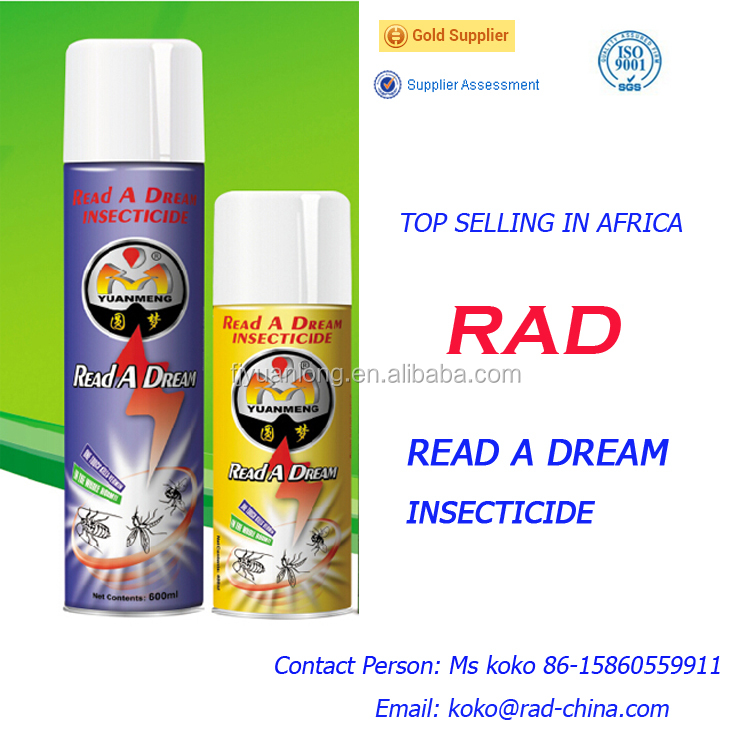 Read A dream insecticide top selling in Africa