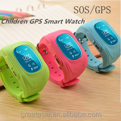 Bluetooth Anti-lost Kids GPS Smart Safe Position Watch With Pedometer Functions hot in USA