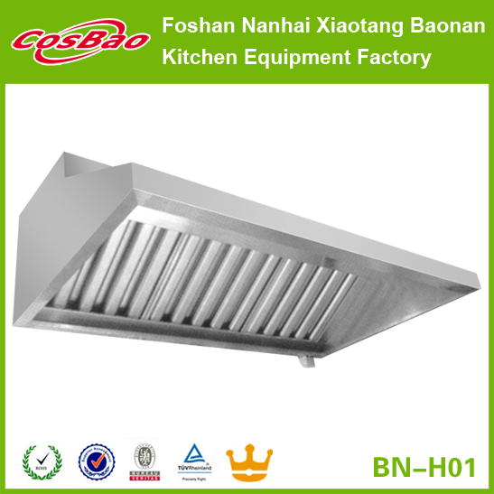 Stainless steel kitchen canopy hood prices, chinese kitchen exhaust range hood