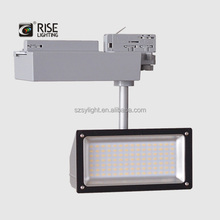 CE SAA TUV approved smd 20/28/38/48W commercial led track lighting 4/3/2 wire cob led track light 220V