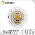 Lepu New Product Ra99 CCT Dimming Perfectly Compatible with ELKO Dimmers Dimmable 10W COB sptolight for Scandinavia