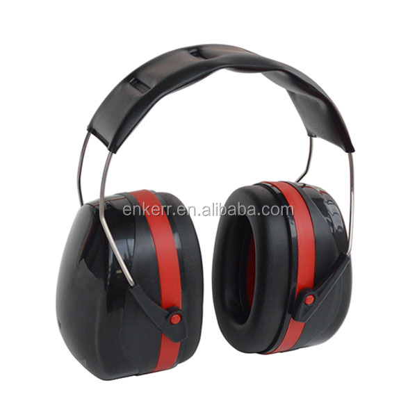 ENKERR CE EN 352-1 safety ear muff for Shooting, Hunting, Drumming, Motor Racing, workshop