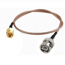 15CM RF Jumper Cable BNC Plug to SSMA Plug COAXIAL Cable RG316 Hot Sale