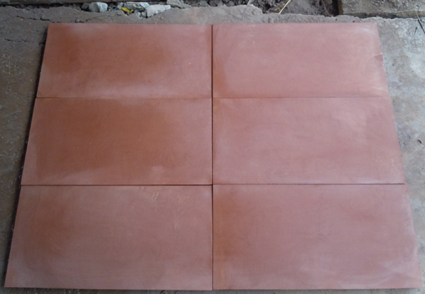 Hot sale good quality fumigation wooden crate packing polished red sandstone