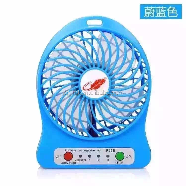 Portable Fan USB Mini Desktop Desk Table Electric Rechargeable Fan for laptop room office outdoor travel