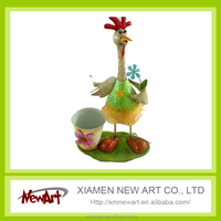 Handmade garden animal decorations chicken