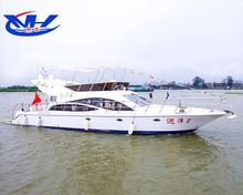 high speed tourist sightseeing passenger crew bussiness yacht / boat ferry for sale