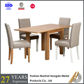 6 chairs dinner table wood