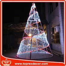 Eco-friendly PVC tree big christmas decoration