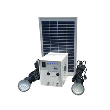 3w mini solar lighting system with mobile charger