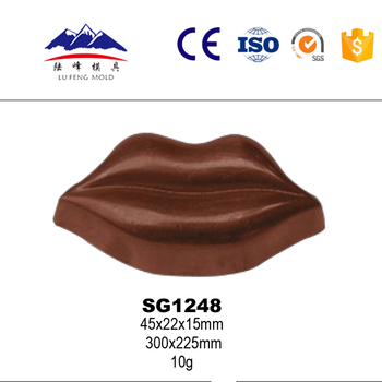 Plastic chocolate mold 3D chocolate molds chocolate moulds