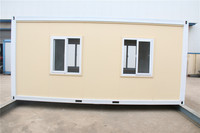 Panel Solid in European recyclable modular eco friendly container home