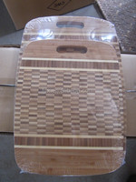bamboo cutting board,checkered chopping boaard