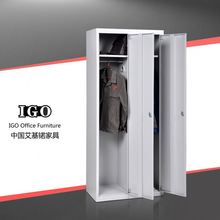 IGO-Furniture 2 doors living room metal locker reclaimed steel tv cabinet