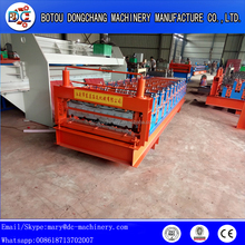 resonable price double layers roof and wall panel machinery