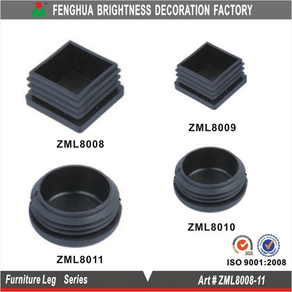 Plastic feet for outdoor furniture; furniture legs and accessories