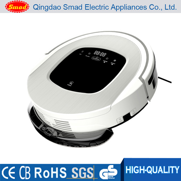 Automatic floor cleaner/vacuum robot for home use