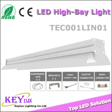 New Design Used to Replace Double-tube And High Bay Light Supermarket LED Linear High Bay Light Solution