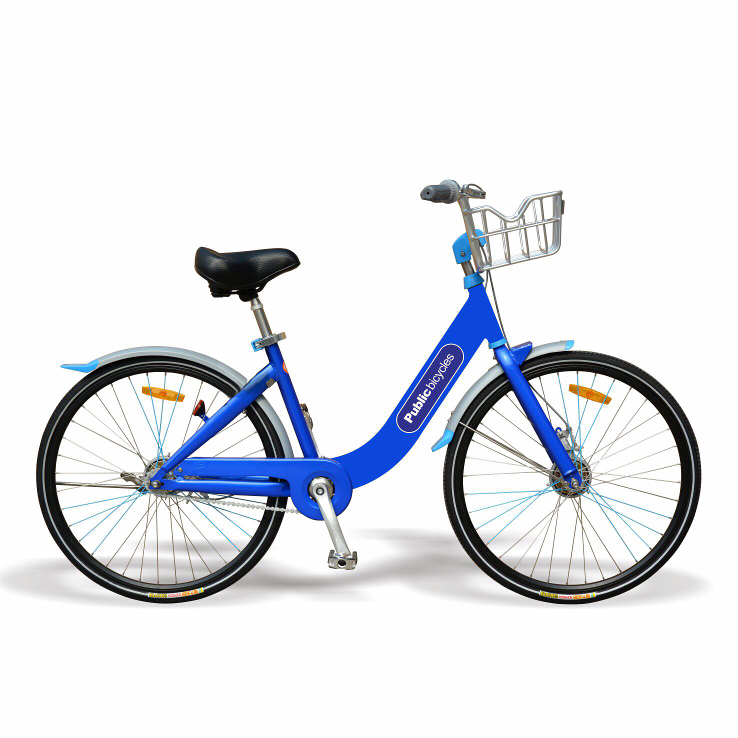 26 inch share system bike blue <strong>cycle</strong> with single speed