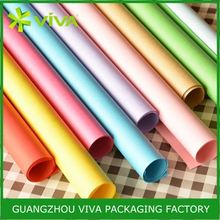 Popular Hot Stamping Printing wrapping paper for bouquets