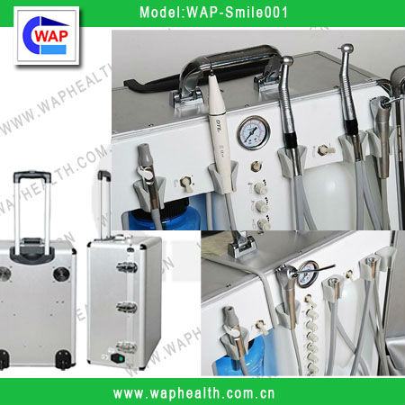 WAP Portable Dental Unit Chair With Good Prices (Luxurious and Economical)