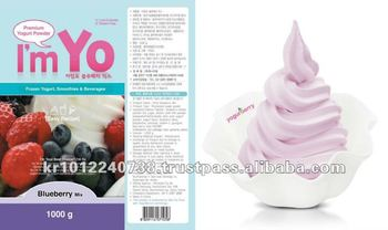 Frozen Yogurt Powder Blueberry Flavor by YogurBerry