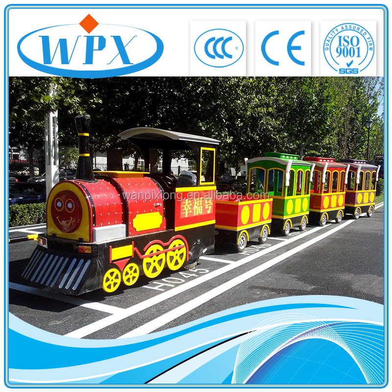 Indoor amusement equipment electric small train to sell 2017 in the latest fashion