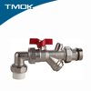Angle Type PPR Ball Valve with Filter and Competitive Advantage in TMOK valvula