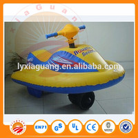 Child boat with electric motor inflatable motorboat