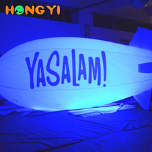 Hot selling high quality Inflatable Airship Helium Balloon LED Lighting Inflatable Airship RC Helium Airship