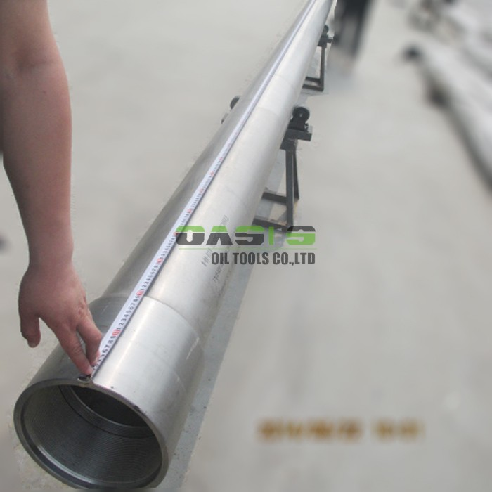 TP304 API seamless steel stainless well casing with thread connection