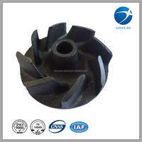 oem service stainless steel precision casting water pump impeller