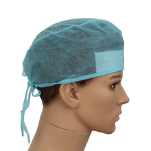 Doctor disposable surgical caps for long hair