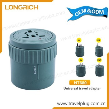Wholesale Usb Promotional Gift Items World CE Universal Travel Adaptor
