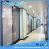 Durable aluminum box office partition wall of glass partition wall