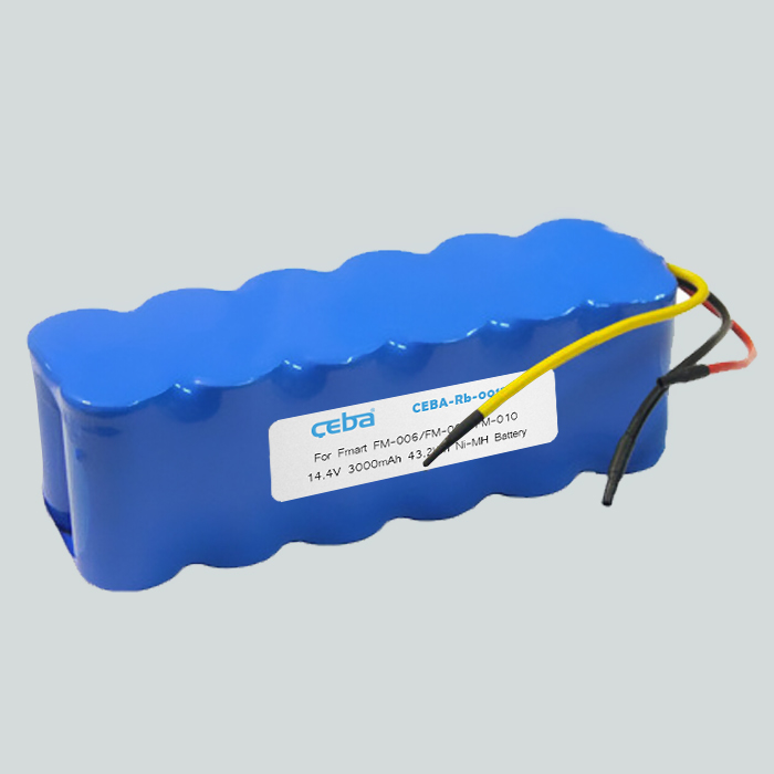 CEBA Vacuum Cleaner Roomba 14.4V Ni-MH 43.2Wh 3000mah replacement Battery Pack 14.4v ni-mh rechargeable battery