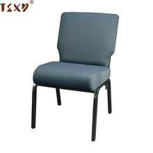 2018 chinese colorful metal cheap steel stackable cheap comfortable seat durable church hall chair