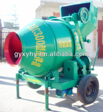 Popular Hongying JZC300 self loading portable concrete mixer with plastic drum