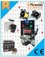 CE UL Automatic Plastic Deli Cup Sealing Machine