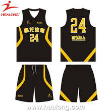 2016 Newest Custom Sublimation Basketball Jersey Pictures