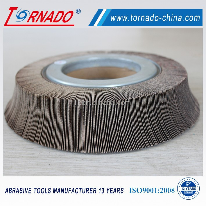 TORNADO special shaped abrasive chuck flap wheel for stainless steel