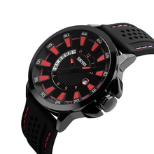 SKMEI brand men military sports watch fashion silicone waterproof analog watch