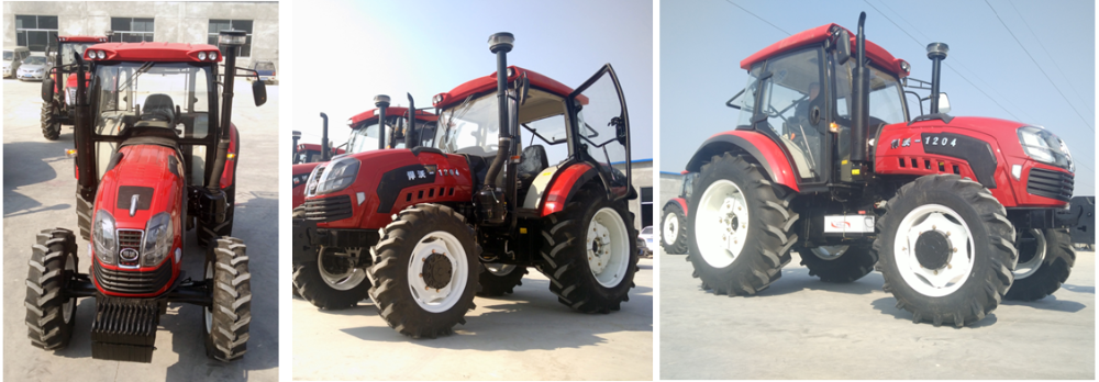 farming tractor with backhoe and loader factory price