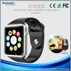 NFC Simcard Smart Watch A1 For Iphone And Android Phone Support Facebook Twiter